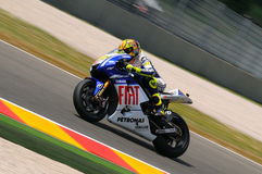 Valentino Rossi YAMAHA MOTOGP photographie stock