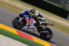 Valentino Rossi YAMAHA MOTOGP Royalty-vrije Stock Afbeelding