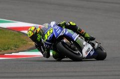 Valentino Rossi - YAMAHA MOTOGP 2014 photographie stock libre de droits