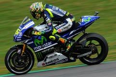 Valentino Rossi YAMAHA MOTOGP 2014 photos stock