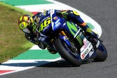 Valentino Rossi YAMAHA MOTOGP 2015 photo libre de droits