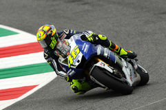 Valentino Rossi YAMAHA MOTOGP Royalty Free Stock Photos