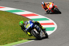 Valentino Rossi YAMAHA MOTOGP Royalty Free Stock Photo