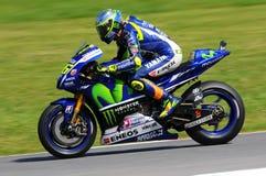 Valentino Rossi YAMAHA MOTOGP 2015 Royalty Free Stock Image