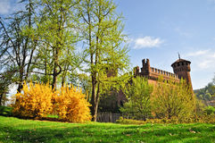 Valentino's Park in Turin Royalty Free Stock Image
