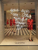 Valentino store Royalty Free Stock Photo