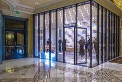 Valentino Store in Las Vegas Royalty-vrije Stock Fotografie