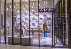 Valentino Store Stock Images