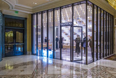 Valentino Store in Las Vegas Royalty Free Stock Photography