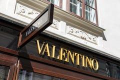 Valentino Store Stock Photography