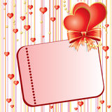Valentins Day card Stock Image