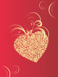 Valentins heart Royalty Free Stock Images