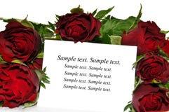 valentins życzenia Fotografia Stock