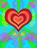 Valentinsgrüße 03 Stockbild