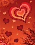 Valentinsgrüße 04 Stockfoto