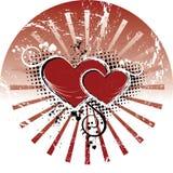 Valentinsgrüße Lizenzfreies Stockfoto