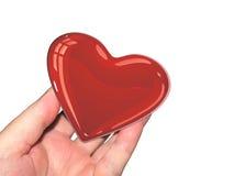 Valentinsgrüße anwesend Lizenzfreies Stockfoto