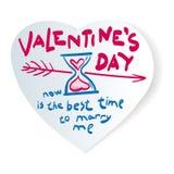 Valentinsgrüße cards_2 vektor abbildung