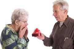 Valentinsgrußüberraschung Lizenzfreie Stockbilder