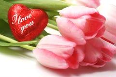 Valentinsgruß Stockbild