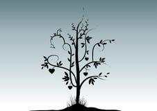 Valentinsgruß-Baum Lizenzfreies Stockfoto