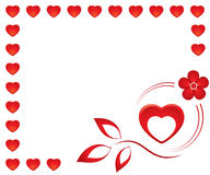 Valentinsgruß card1 vektor abbildung