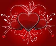 Valentinsgruß-Hintergrund Lizenzfreies Stockfoto