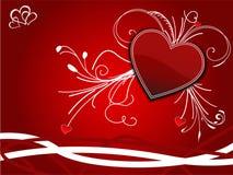 Valentinsgruß-Hintergrund Lizenzfreies Stockbild