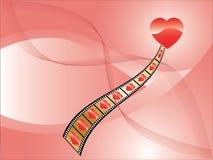 Valentinsgruß-Hintergrund Stockfotografie