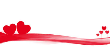 Valentinsgruß-Hintergrund vektor abbildung