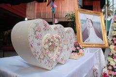 Valentinsgruß, Hochzeitszeremonie Lizenzfreie Stockfotografie