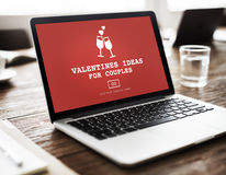 Valentinsgruß-Ideen für Paar-Romance Liebes-Toast-Datierungs-Konzept Stockbilder
