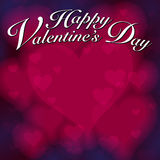 Valentinsgruß-Inner-Hintergrund stock abbildung