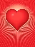 Valentinsgruß-Inneres Stockfoto