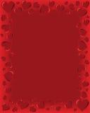Valentinsgruß-Karte lizenzfreie abbildung