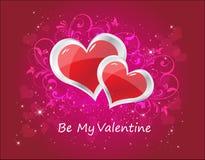 Valentinsgruß-Karte Stockfotos