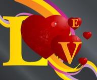 Valentinsgruß-Konzept Stockbild