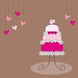 Valentinsgruß- oder Hochzeitsfahnen Lizenzfreies Stockbild