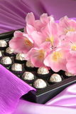 Valentinsgruß-oder Mutter-Tagesgeschenk - Foto auf lager Stockfotos