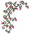 Valentinsgruß-Rand Stock Abbildung