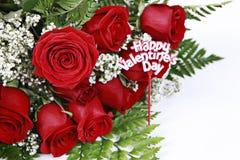 Valentinsgruß-Rosen lizenzfreies stockbild