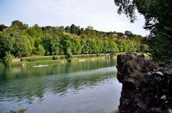 Valentinsgruß ` s Park in Turin stockbild