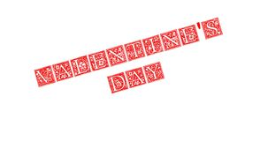 Valentinsgruß `s Tag vektor abbildung