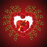 Valentinsgruß \ 's-Tag Stockbild