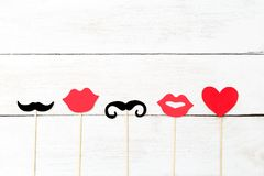 Valentinsgruß `s Tag Valentinsgrußkarten-Kopienraum Lizenzfreies Stockbild
