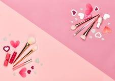 Valentinsgruß ` s Tageshintergrund Stockfoto