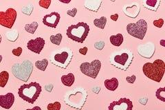 Valentinsgruß ` s Tageshintergrund Lizenzfreie Stockfotografie