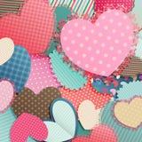 Valentinsgruß `s Tageskarte Lizenzfreies Stockfoto