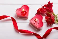 Valentinsgruß ` s Tagesstillleben Lizenzfreie Stockfotos
