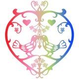 Valentinsgruß-Symbol Stockfotos